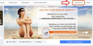 Créer sa boutique en ligne sur Facebook allonature